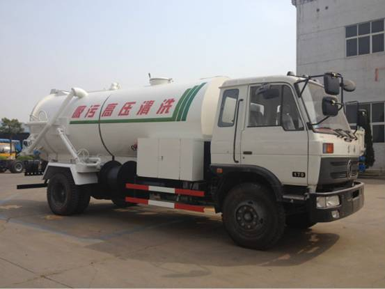 Dongfeng 153 sewer and jetting vehicle
