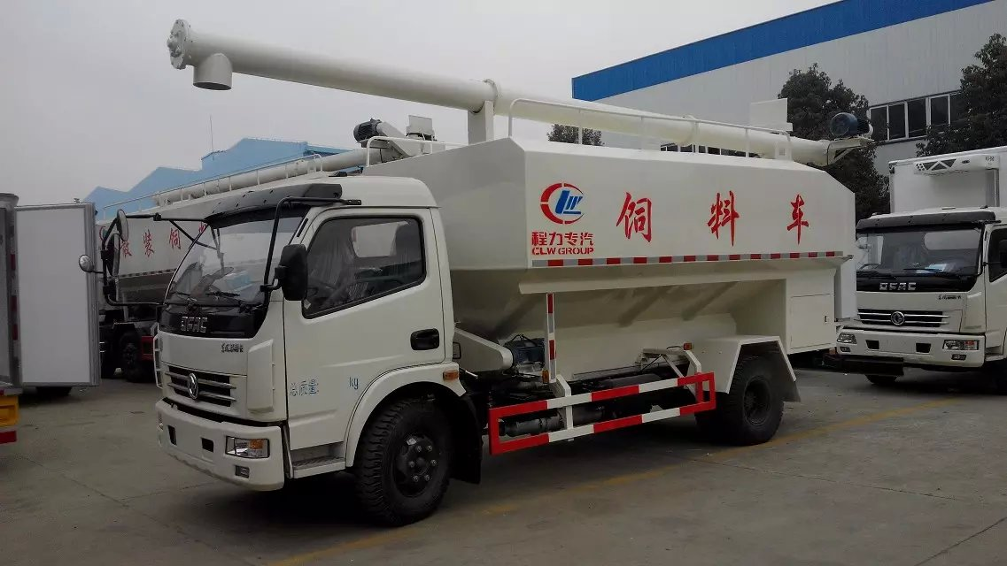 dongfeng bulk feed delivery truck