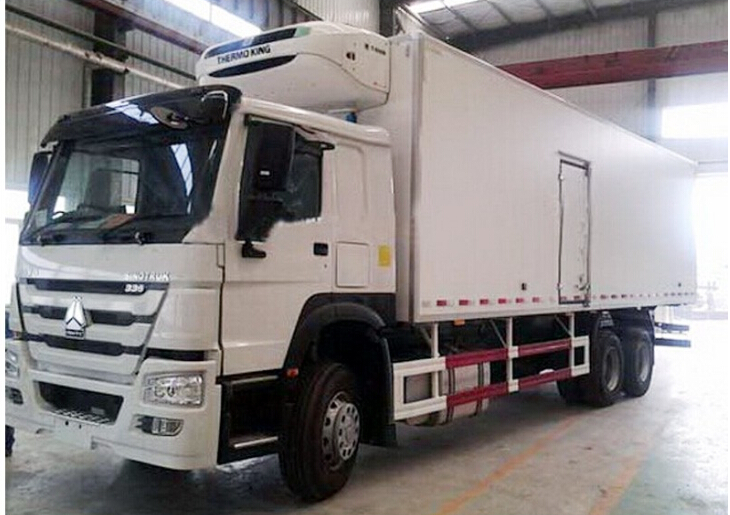 HOWO 336hp refrigerated truck