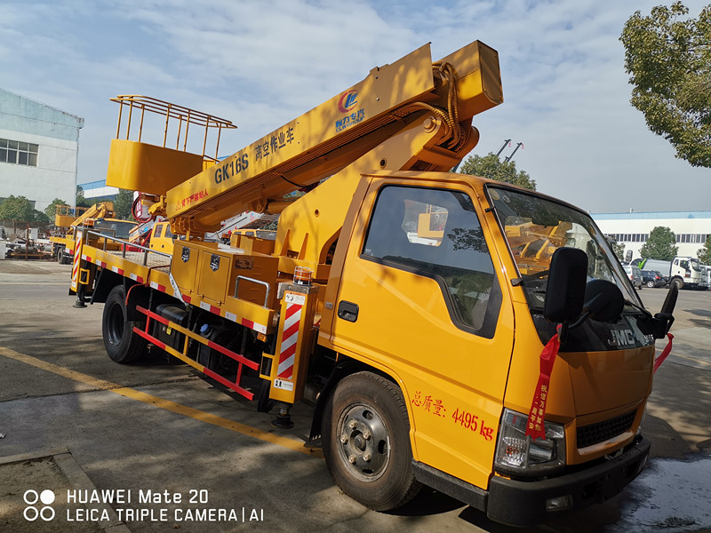 JMC 16m telescopic aerial working platfor