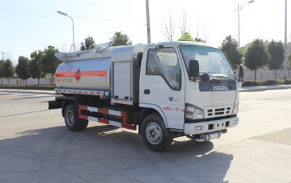ISUZU refueling truck for sale
